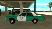 Ford LTD Crown Victoria 1991 San Diego County Sheriff for GTA San Andreas miniature 5