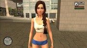 Girl from The Sims 4 for GTA San Andreas miniature 1