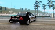 Ford Crown Victoria Police for GTA San Andreas miniature 4