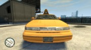 1995 Ford Crown Victoria LC Taxi for GTA 4 miniature 2