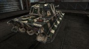 Шкурка для PzKpfw VIB Tiger II зеленый for World Of Tanks miniature 4