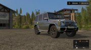 Mercedes-Benz G65 AMG for Farming Simulator 2017 miniature 1