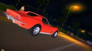Chevrolet Corvette (C3) Stingray T-Top 1969 for GTA Vice City miniature 9