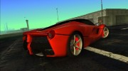 Ferrari LaFerrari F70 for GTA Vice City miniature 4