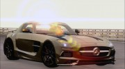 Mercedes-Benz SLS AMG Black Series 2013 для GTA San Andreas миниатюра 5