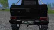 Mercedes-Benz G65 AMG 6X6 for Farming Simulator 2015 miniature 8