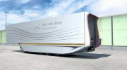 Mercedes Aerodynamic Trailer 1.2 for Euro Truck Simulator 2 miniature 1