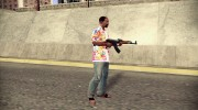 Новый AK 47 HD for GTA San Andreas miniature 3
