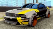 Ford Mustang Evil Empire 2016 для GTA San Andreas миниатюра 3