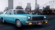 Plymouth Fury Salon (RL41) 1978 для GTA San Andreas миниатюра 5