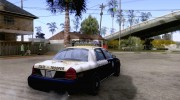 Ford Crown Victoria Florida Police for GTA San Andreas miniature 4