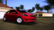 Toyota Yaris for GTA Vice City miniature 1