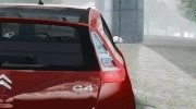Citroen C4 Coupe Beta для GTA 4 миниатюра 13