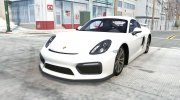 Porsche Cayman GT4 (981C) 2015 for BeamNG.Drive miniature 1