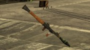 RNDSI-5k Rocket Launcher China Wind для GTA San Andreas миниатюра 5