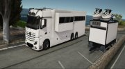 Mercedes-Benz Actros Motorhome (Beta) for GTA 5 miniature 3