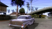Chevrolet Bel Air 4-door Sedan Taxi 1957 for GTA San Andreas miniature 4