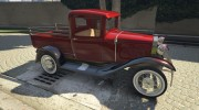 Ford A Pick-up 1930 for GTA 5 miniature 2