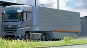 Mercedes Aerodynamic Trailer 1.2 for Euro Truck Simulator 2 miniature 4