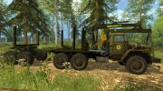 Урал 4320 Лесовоз for Farming Simulator 2015 miniature 3