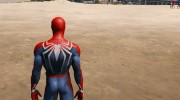 Spiderman PS4 4k 2.0 for GTA 5 miniature 2