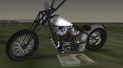 Harley-Davidson Shovelhead for GTA Vice City miniature 1