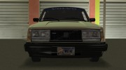 Volvo 242 Turbo Evolution for GTA Vice City miniature 2