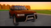Toyota Land Cruiser 80 1995 для GTA San Andreas миниатюра 14