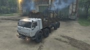 КамАЗ 6350 «Мустанг» Лесовоз for Spintires 2014 miniature 1