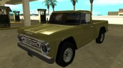 Dodge D-100 1966 for GTA San Andreas miniature 1