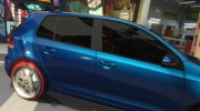 Volkswagen Golf Mk 6 for GTA 5 miniature 5