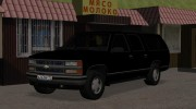 Chevrolet Suburban GMT400 1998 for GTA San Andreas miniature 1