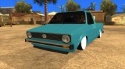 Volkswagen Сaddy 1980 for GTA San Andreas miniature 1