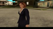 Dana Scully (The X-Files) для GTA San Andreas миниатюра 3