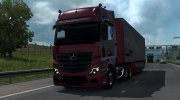 Mercedes-Benz Actros MP5 for Euro Truck Simulator 2 miniature 1