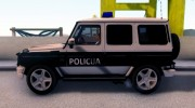 Mercedes-Benz G65 AMG BIH Police Car для GTA San Andreas миниатюра 3