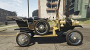 Ford T 1910 Passenger Open Touring Car for GTA 5 miniature 12