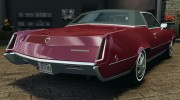 Cadillac Eldorado 1968 for GTA 4 miniature 3