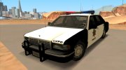 1992 CHEVROLET POLICE LVPD SA STYLE for GTA San Andreas miniature 1