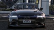 Audi A6 Skylight Edition 2013 for GTA 5 miniature 3