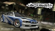 BMW M3 GTR Engine Sound (Need For Speed Most Wanted) for GTA San Andreas miniature 1