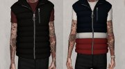 Puffer Vest - V2 for Sims 4 miniature 1