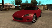 Honda S2000 AP1 for GTA San Andreas miniature 1