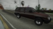2010 Chevrolet Blazer for GTA San Andreas miniature 3