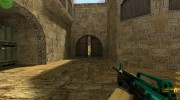 Cyan-black M4 with BvB for Counter Strike 1.6 miniature 1
