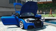 Audi TT RS 2013 v1 for GTA 5 miniature 13