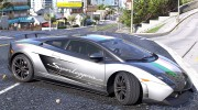 Lamborghini Gallardo LP570-4 Superleggera 2011 1.0 для GTA 5 миниатюра 9