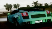 2005 Lamborghini Gallardo Liberty Walk LB Performance for GTA San Andreas miniature 5