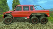 Mercedes G65 AMG 6x6 v.1 for Farming Simulator 2015 miniature 2