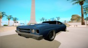 Chevrolet Chevelle for GTA San Andreas miniature 1